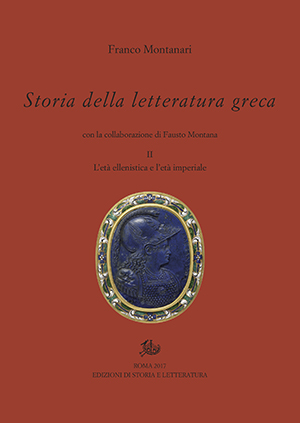 copertina di Storia della letteratura greca. II