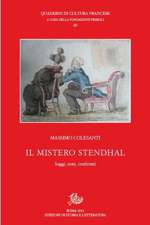 copertina di Il mistero Stendhal