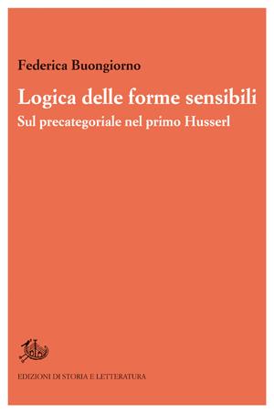copertina di Logica delle forme sensibili