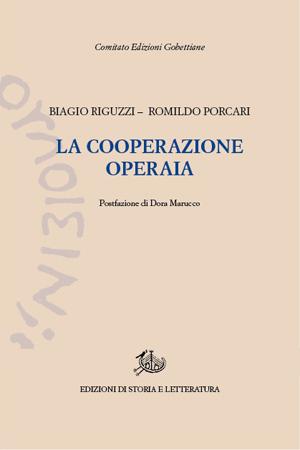 copertina di La cooperazione operaia