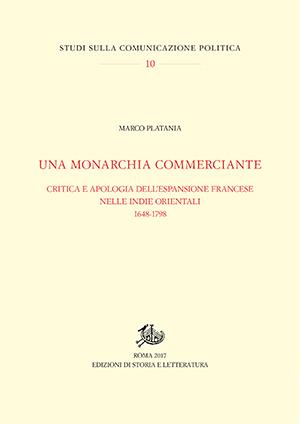 copertina di Una monarchia commerciante