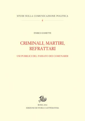 copertina di Criminali, martiri, refrattari