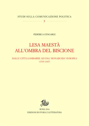 copertina di Lesa maestà all'ombra del Biscione