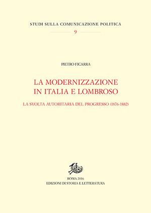 copertina di La modernizzazione in Italia e Lombroso