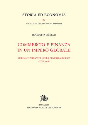 copertina di Commercio e finanza in un impero globale