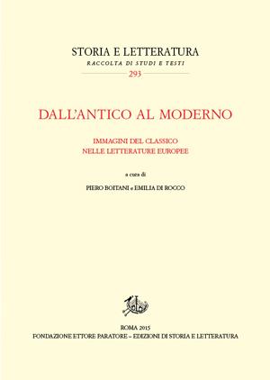 copertina di Dall'antico al moderno