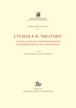 copertina di L'Italia e il 'militare'