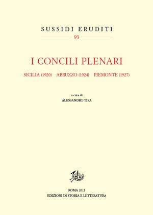 copertina di I Concili plenari