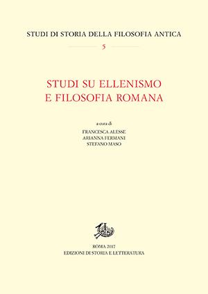 copertina di Studi su ellenismo e filosofia romana