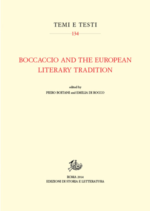 copertina di Boccaccio and the European Literary Tradition
