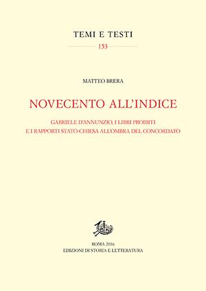 copertina di Novecento all'Indice
