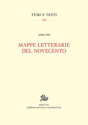 copertina di Mappe letterarie del Novecento