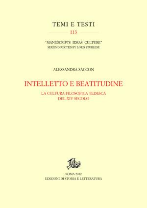copertina di Intelletto e beatitudine