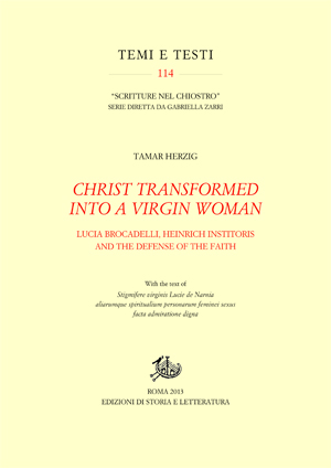 copertina di Christ Transformed into a Virgin Woman