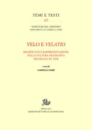 copertina di Velo e velatio
