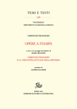 copertina di Opere a stampa