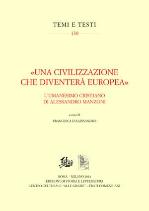 copertina di «Una civilizzazione che diventerà europea»