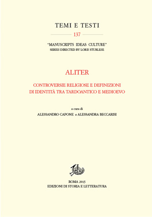 copertina di Aliter