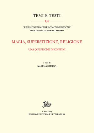 copertina di Magia, superstizione, religione