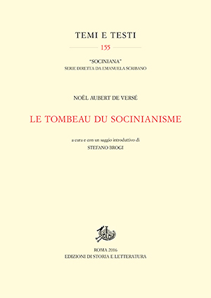 copertina di Le tombeau du socinianisme
