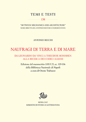 copertina di Naufragi di terra e di mare