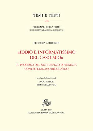 copertina di «Iddio è informatissimo del caso mio»