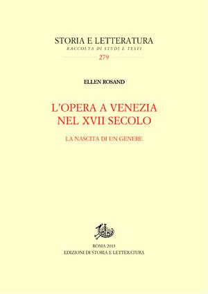 copertina di L'opera a Venezia nel XVII secolo
