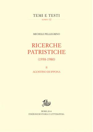 copertina di Ricerche patristiche (1938-1980). II.
