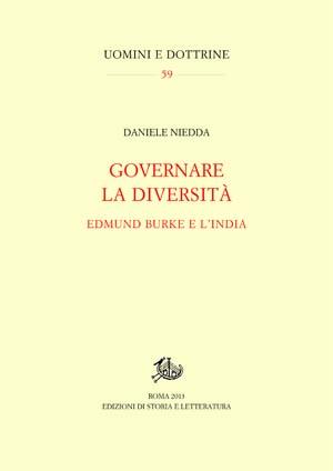 copertina di Governare la diversità