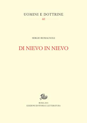 copertina di Di Nievo in Nievo