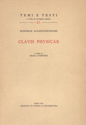 copertina di Clavis Physicae