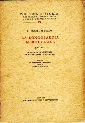 copertina di La Longobardia meridionale (570-1077)
