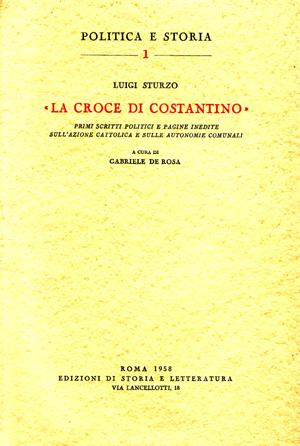 copertina di «La Croce di Costantino»