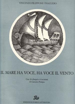 copertina di Il mare ha voce, ha voce il vento
