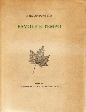 copertina di Favole e tempo