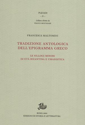 copertina di Tradizione antologica dell'epigramma greco