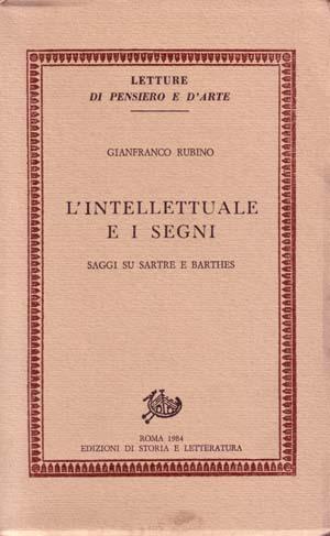 copertina di L'intellettuale e i segni