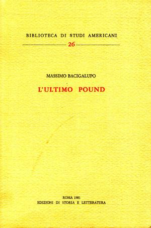 copertina di L'ultimo Pound