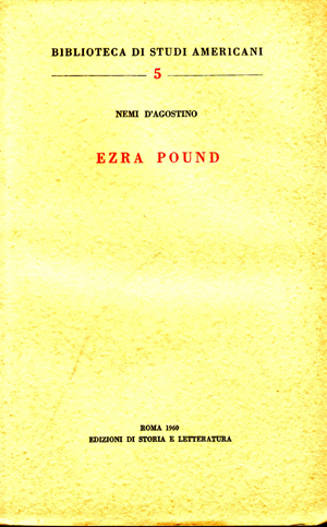 copertina di Ezra Pound