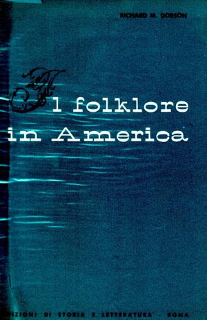 copertina di Il folklore in America