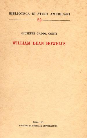 copertina di W.D. Howells