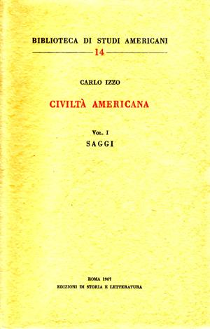copertina di Civiltà americana