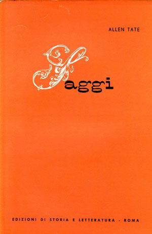 copertina di Saggi