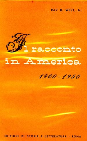 copertina di Il racconto in America