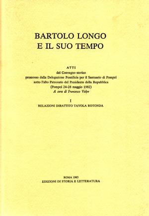 copertina di Bartolo Longo e il suo tempo