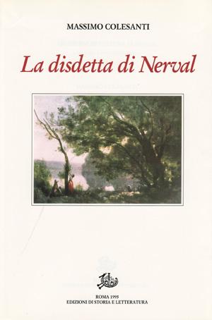 copertina di La disdetta di Nerval, con altri saggi e studi