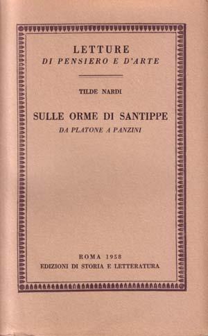 copertina di Sulle orme di Santippe