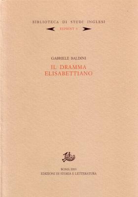 copertina di Il dramma elisabettiano