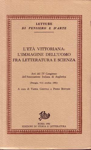 copertina di L'età vittoriana: l'immagine dell'uomo fra letteratura e scienza
