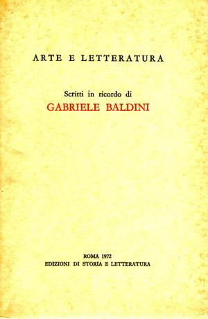 copertina di Arte e Letteratura